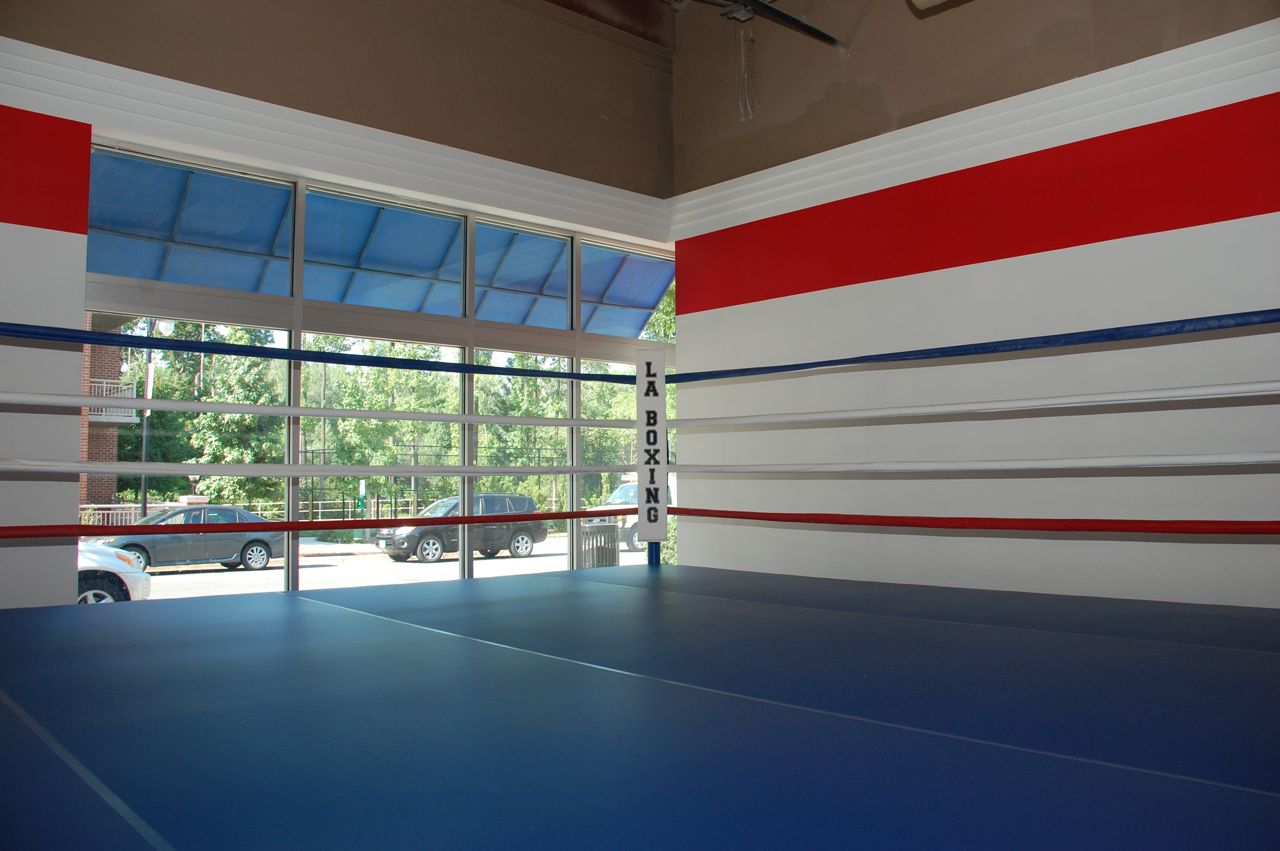 how to make a boxing ring